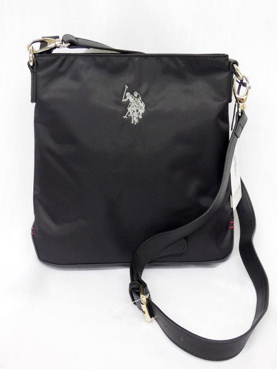 US Polo ASSN borsa a tracolla Grays di colore nero Medium crossbody Black